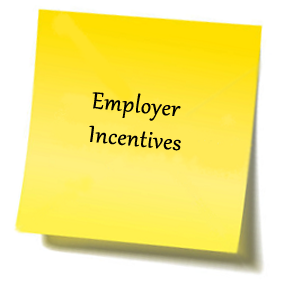 Employer incentives